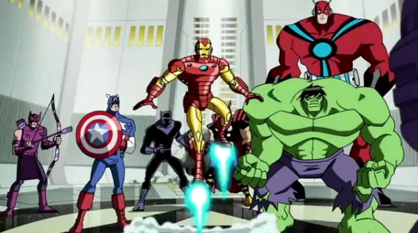 avengers tv series could launch in 2013 New Avengers Animated TV series in 2013
