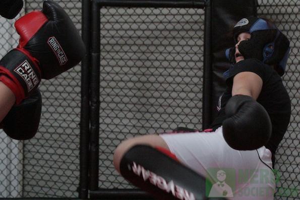 henry melissa  1 1 De La O Training Camp For Long Beach Fight Night