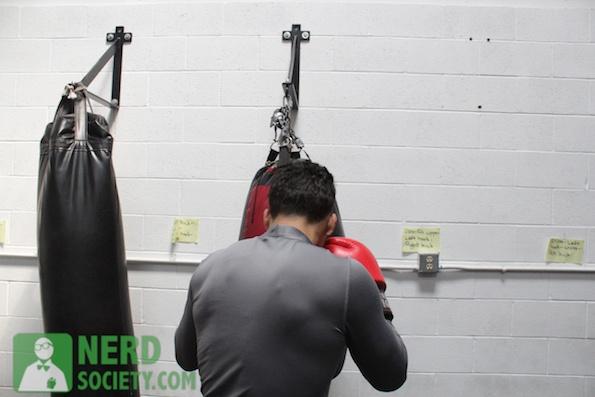 henry melissa  10 2 De La O Training Camp For Long Beach Fight Night