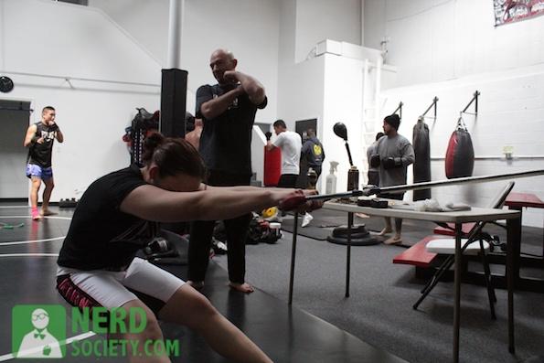 henry melissa  11 2 De La O Training Camp For Long Beach Fight Night