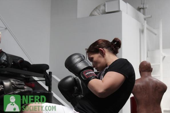 henry melissa  5 2 De La O Training Camp For Long Beach Fight Night