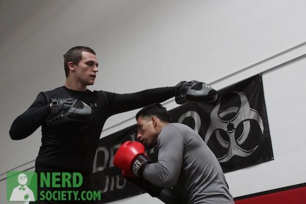 henry melissa  6 2 De La O Training Camp For Long Beach Fight Night