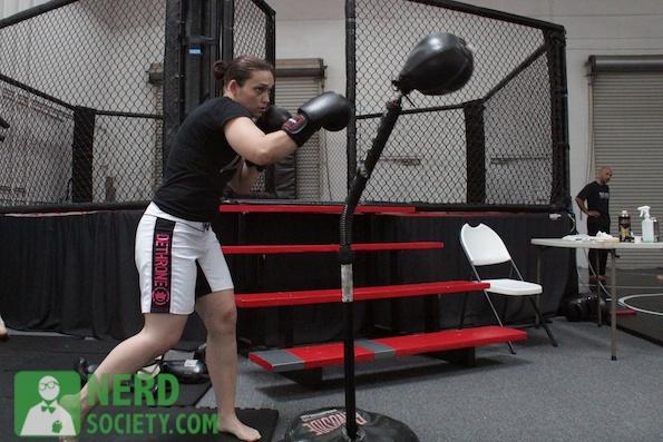 henry melissa  8 2 De La O Training Camp For Long Beach Fight Night