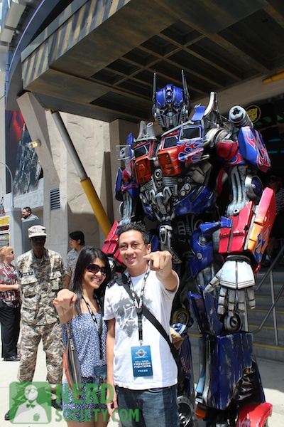 tf theride 6 Transformers: The Ride 3 D Experience At Universal Studios