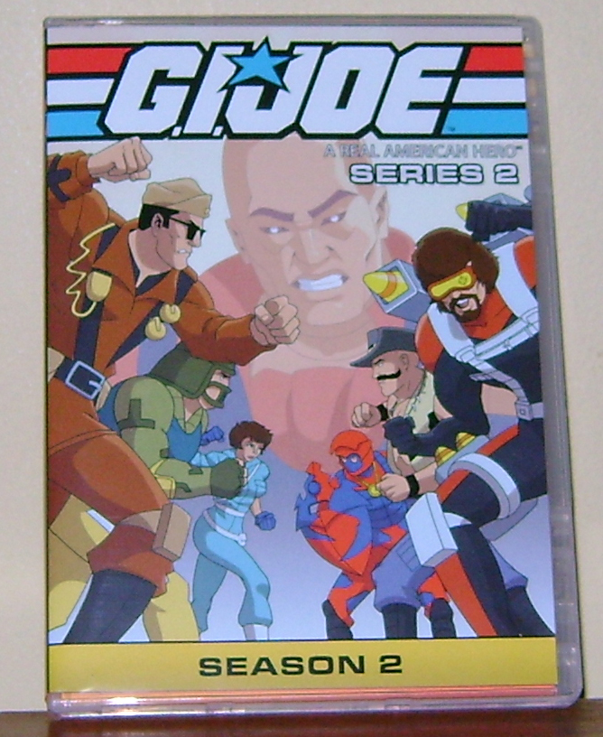GI Joe FS 1 G.I. Joe: Series 2, Season 2 DVD Review!