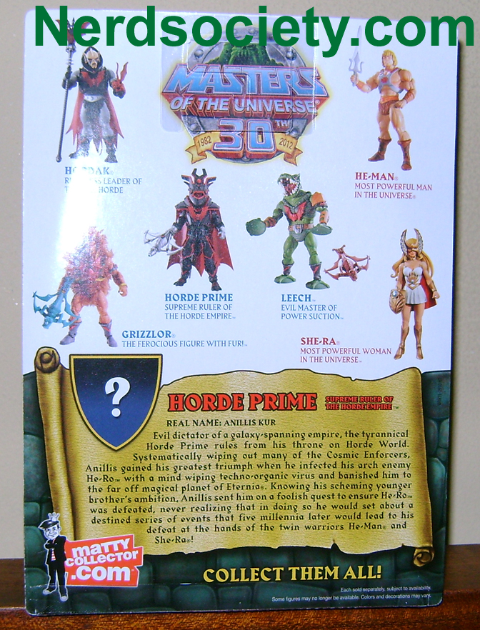 HP 2 Thirty Years of MOTU: Jun  Griffin, Horde Prime and Snake Man At Arms!