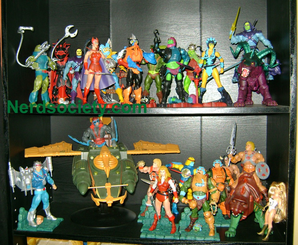Shelf Jun 1024x840 Thirty Years of MOTU: Jun  Griffin, Horde Prime and Snake Man At Arms!