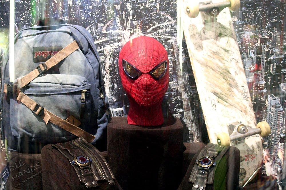 amazing spider man props 1 Amazing Spider Man Festivities