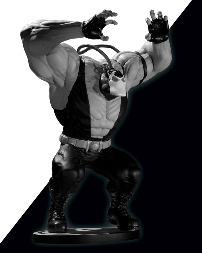 dcd bane Black & White Bane Statue Not Menacing