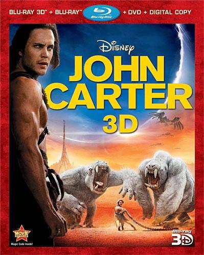 johncarter Blu Ray Review: John Carter 3D