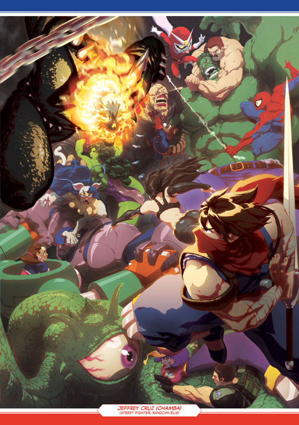 mvc3 Udon Marvel Vs. Capcom Book Only at SDCC