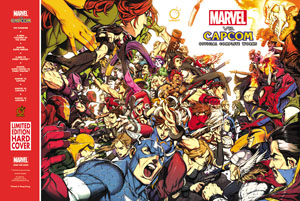 mvc4 Udon Marvel Vs. Capcom Book Only at SDCC