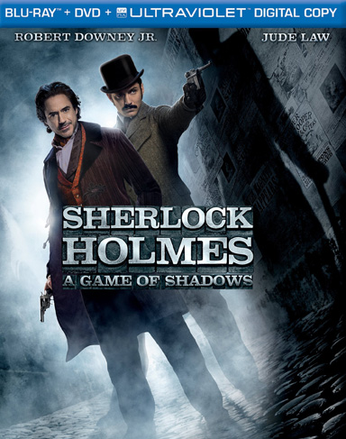 sherlock2 Giveaway: Sherlock Holmes 2   Game Of Shadows Blu ray/DVD Combo Pack
