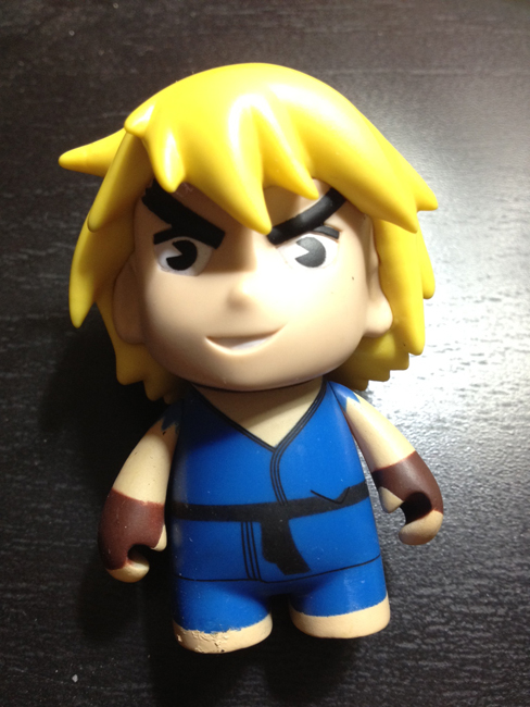 street fighter toys ken Kidrobot Street Fighter Mini Figures