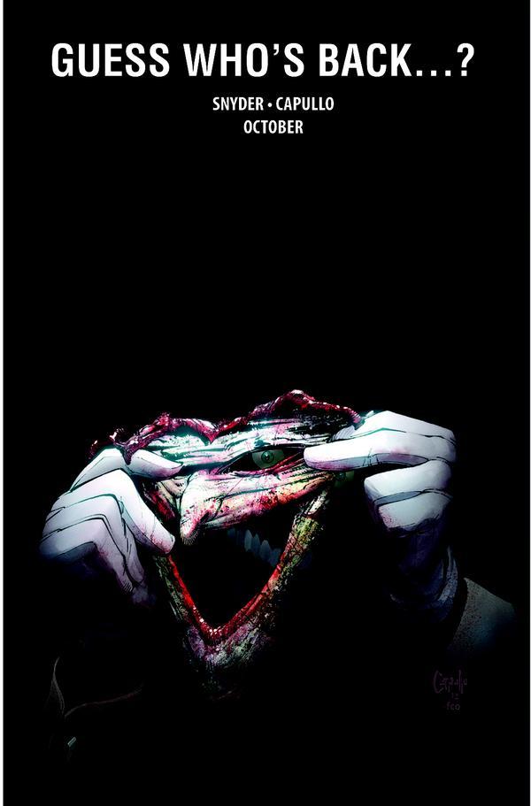 2443653 batman promo1 The Joker Returns in Scott Snyders BATMAN