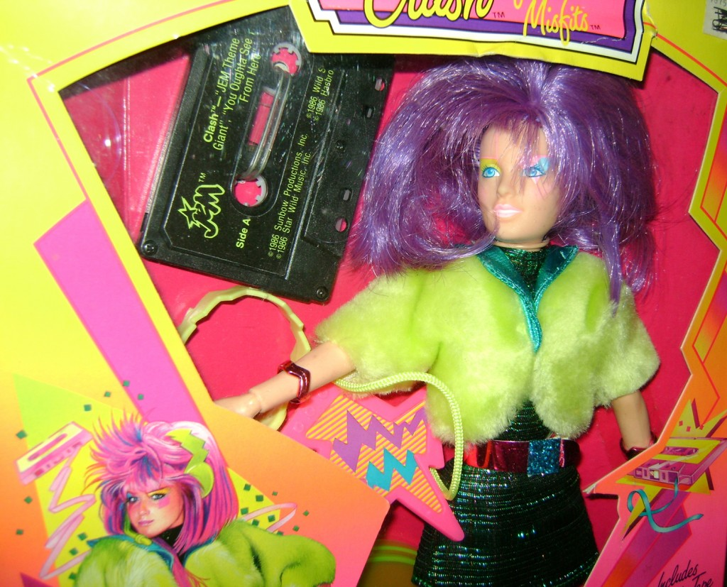 Clash 2 1024x827 Glitter n Gold Jem And Clash—Jem And The Holograms And The Misfits!