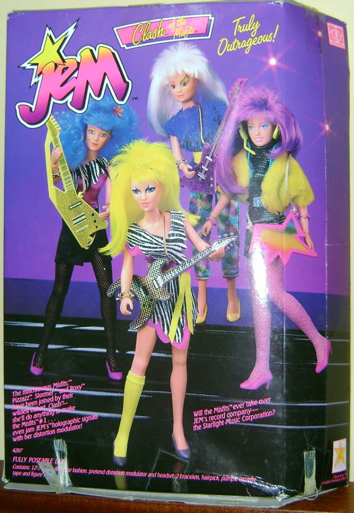 Clash 3 707x1024 Glitter n Gold Jem And Clash—Jem And The Holograms And The Misfits!
