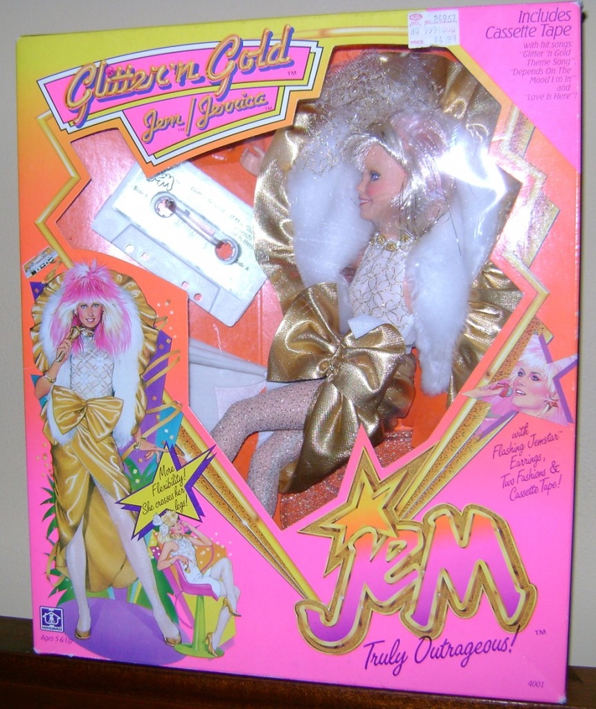 GnG Jem 1 861x1024 Glitter n Gold Jem And Clash—Jem And The Holograms And The Misfits!