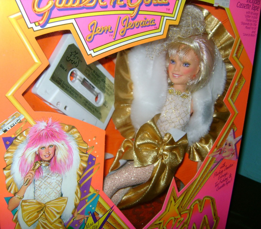 GnG Jem 2 1024x898 Glitter n Gold Jem And Clash—Jem And The Holograms And The Misfits!