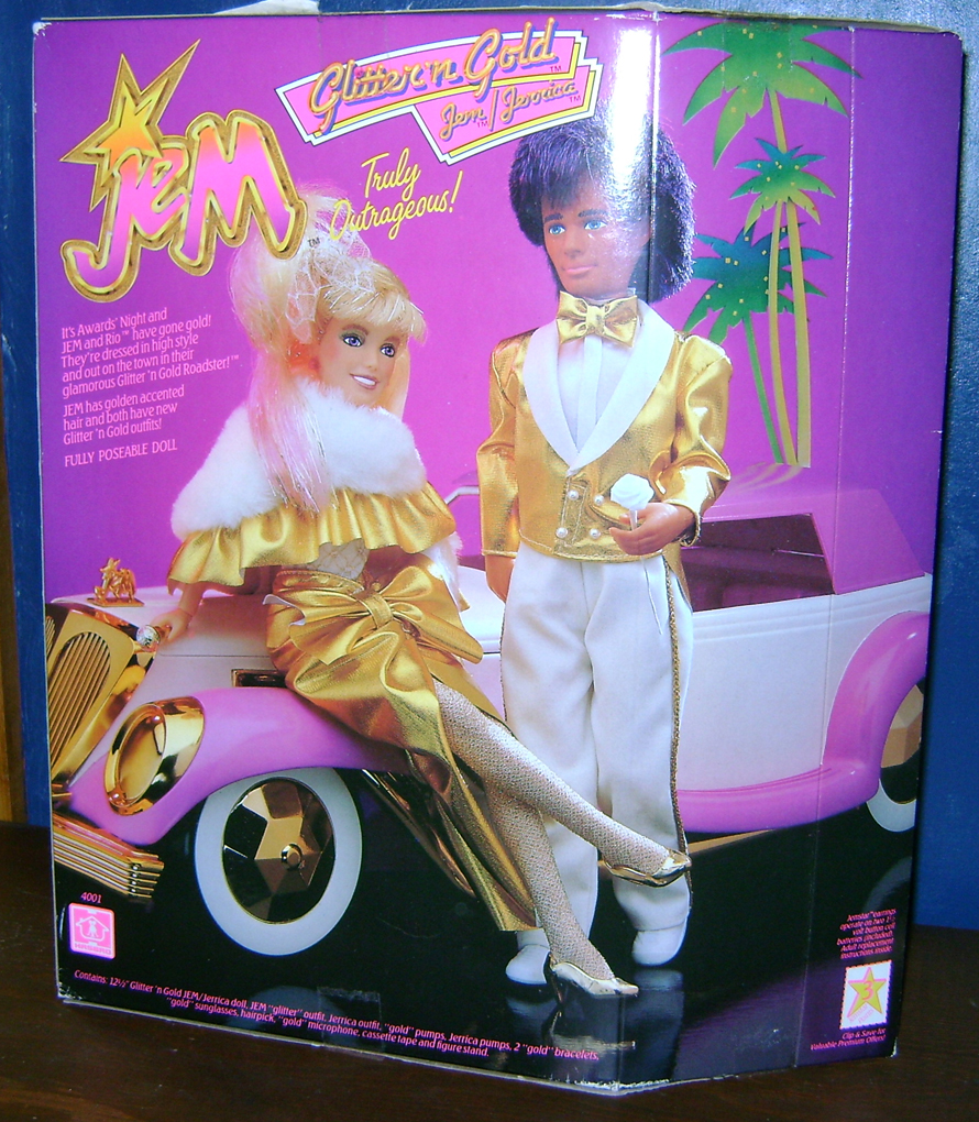 GnG Jem 3 Glitter n Gold Jem And Clash—Jem And The Holograms And The Misfits!