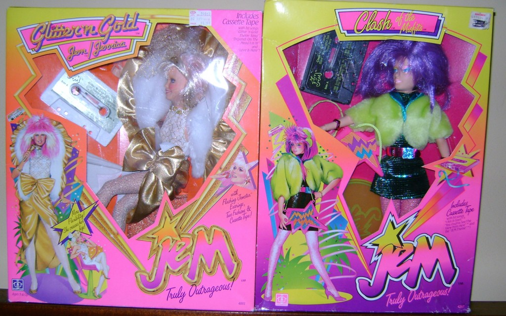 GnG Jem and Clash 1024x639 Glitter n Gold Jem And Clash—Jem And The Holograms And The Misfits!