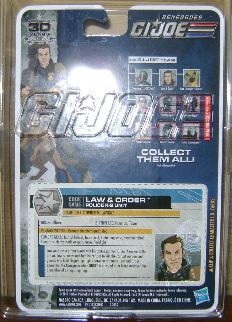 LO 2 739x1024 Bitch'in Toy Review: G.I. Joe 30th—Last Chance!