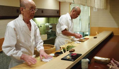jiro dreams 01 Blu ray Review: Jiro Dreams of Sushi