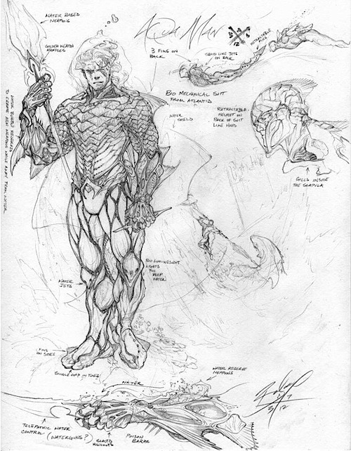 jlaquaman1 Justice League Concept Art In Next Batman: Arkham Game?
