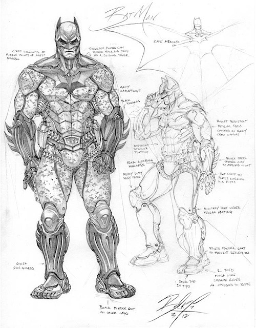 jlbatman11 Justice League Concept Art In Next Batman: Arkham Game?
