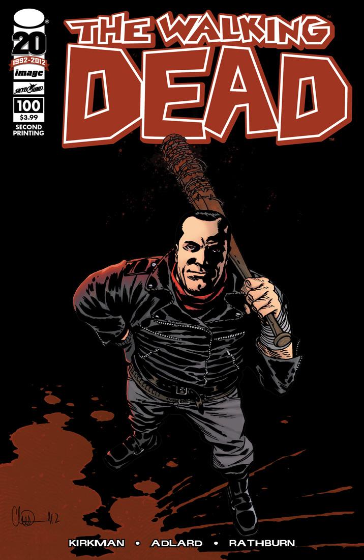 walkingdead2nd Walking Dead Maze At HHN & #100 Gets 2nd Print