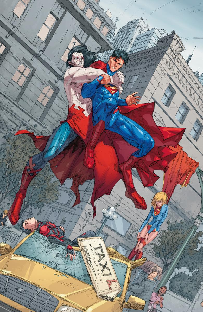 2523311 superman 14 Superman, Superboy and Supergirl Crossover this Fall