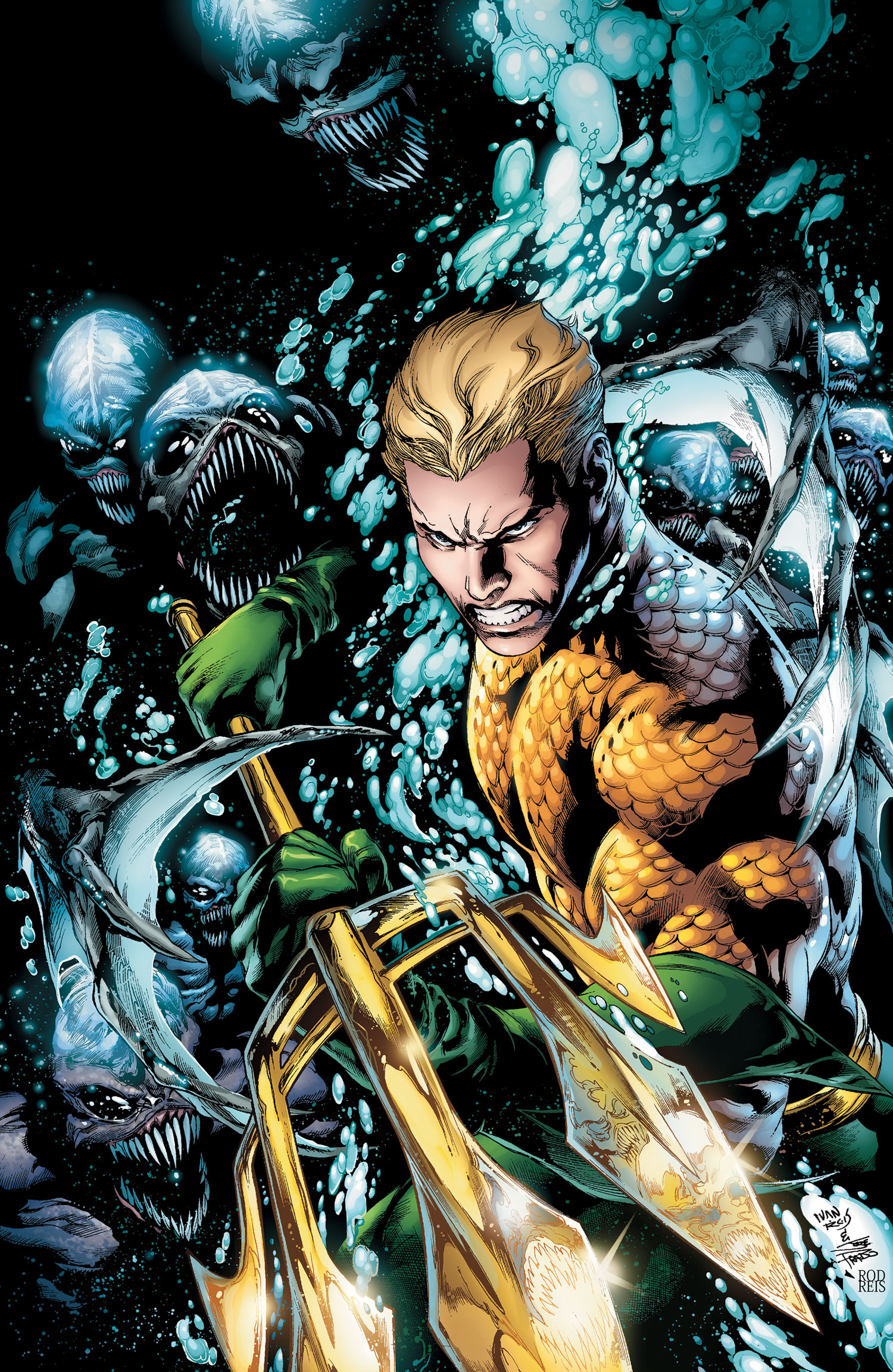 AQM Vol1 Comic Review: Aquaman Vol. 1 The Trench