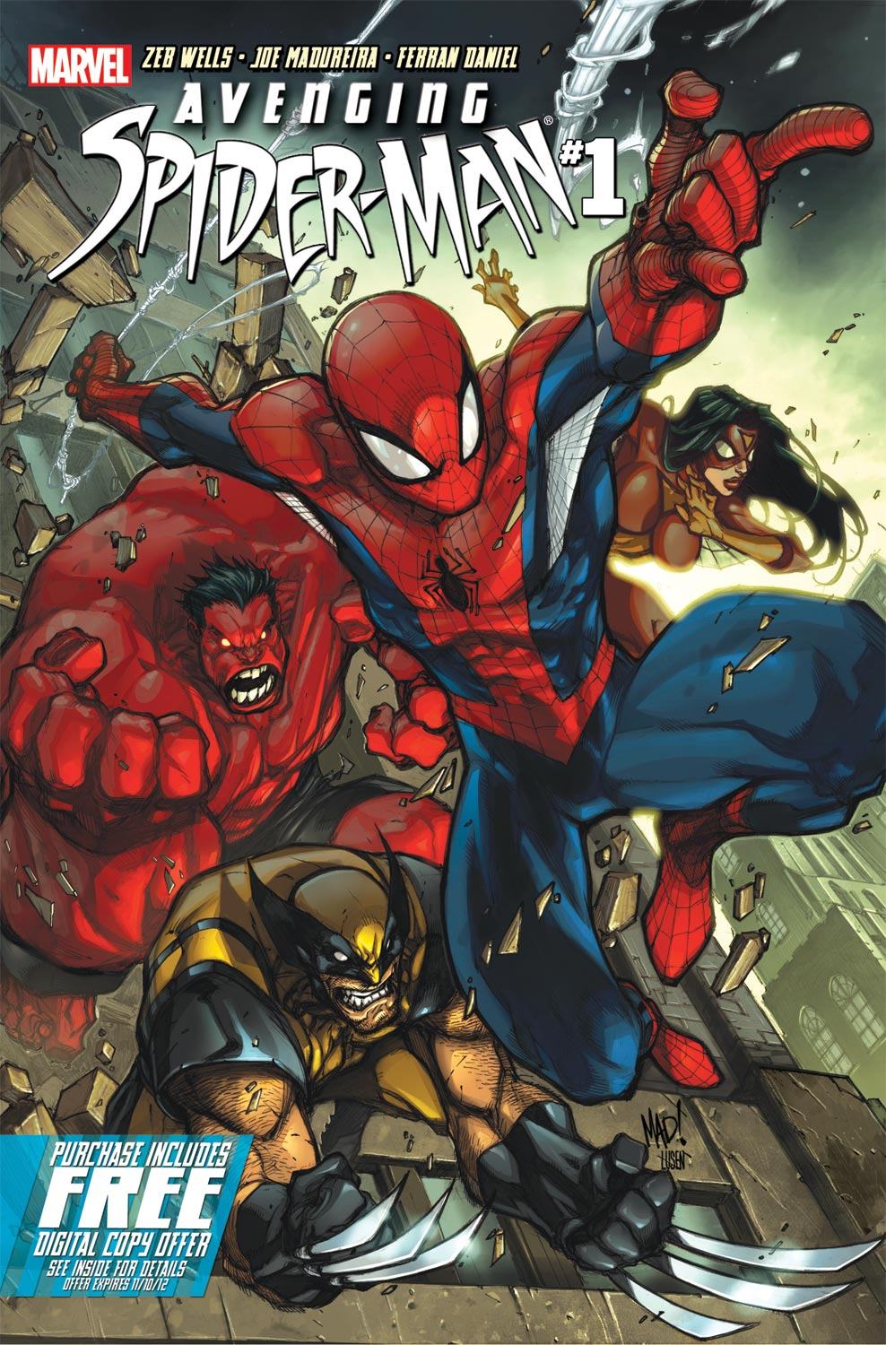 AvSM01 001 Comic Review: Avenging Spider Man Vol.1 (#1 5)