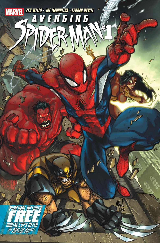 AvSM01 001 Comic Review: Avenging Spider Man Vol.1 (#1 5)