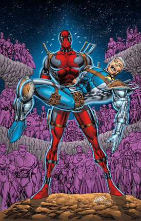 Cable Deadpool 25 Famed Artist Rob Liefeld Upset Over Deadpool