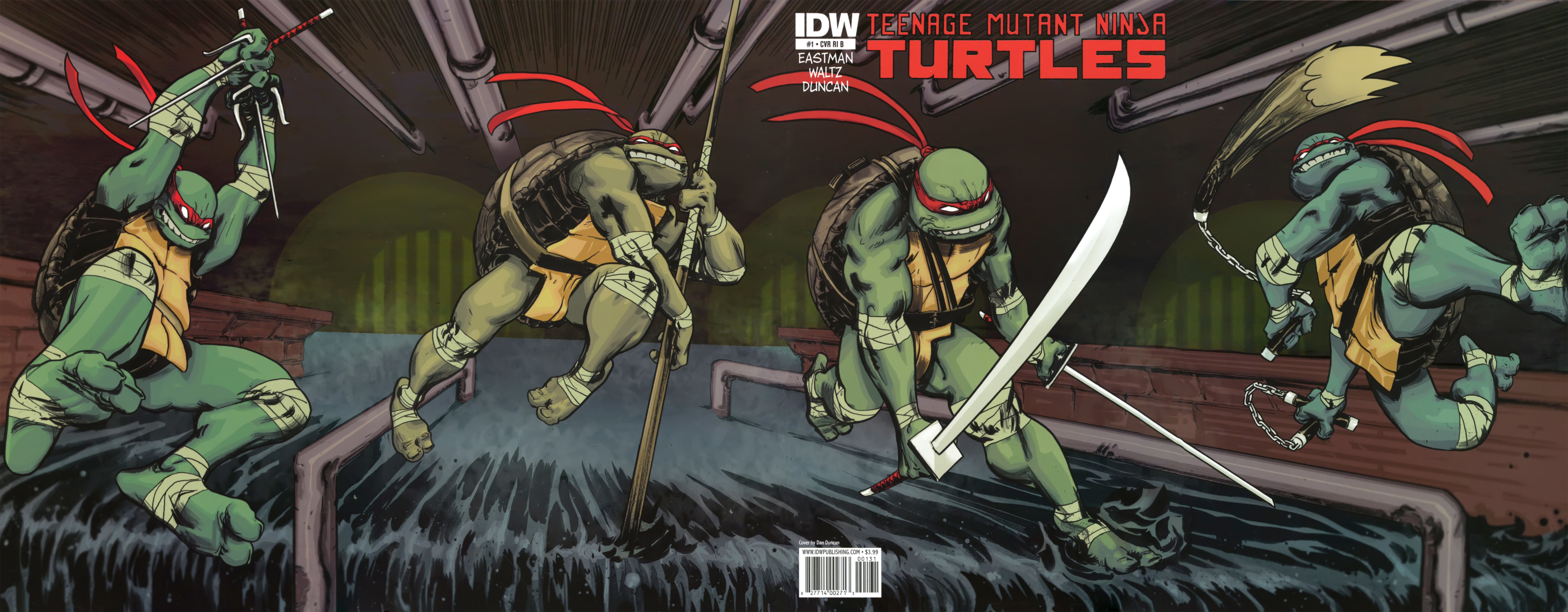 TMNT 1 Oroboros CPS 006 009 Comic Review: TMNT Vol.1: Change is Constant