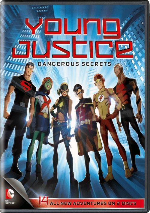 YJ DS Cover Young Justice  Dangerous Secrets: DVD Review!