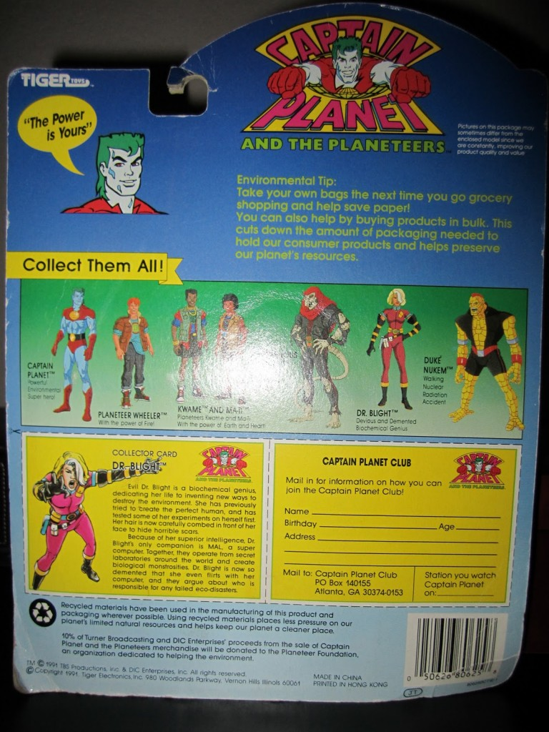009 768x1024 Vintage Toy of the Month! Captain Planets Dr. Blight!
