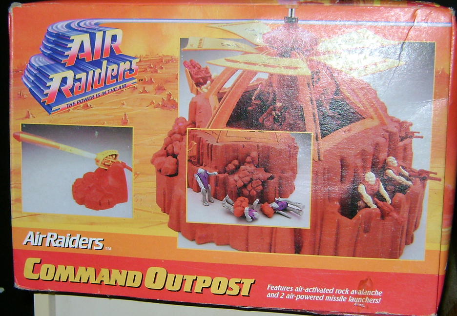 Air 3 Air Raiders: Command Outpost!