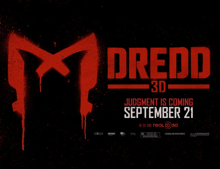 Dredd poster outdoor billboard Dredd Bombs!!! Cinema in NA Dying?