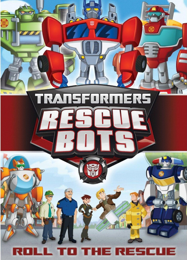 TF Rescue Bots 735x1024 Transformers: Rescue Bots DVD Review!