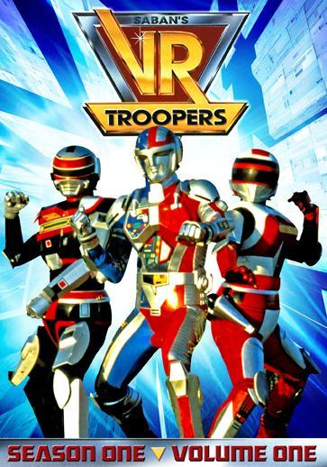 VR Troopers VR Troopers: Season 1 Volume 1  DVD Review!