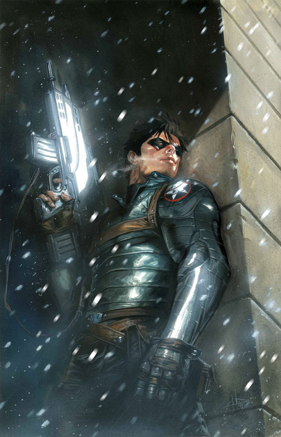 WinterSoldier 1 CoverDelOttoVariant Comic Review: Winter Soldier Vol. 1 The Longest Winter