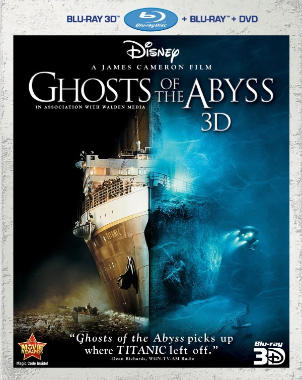abyss2 Blu Ray Review: Ghosts Of The Abyss 3D