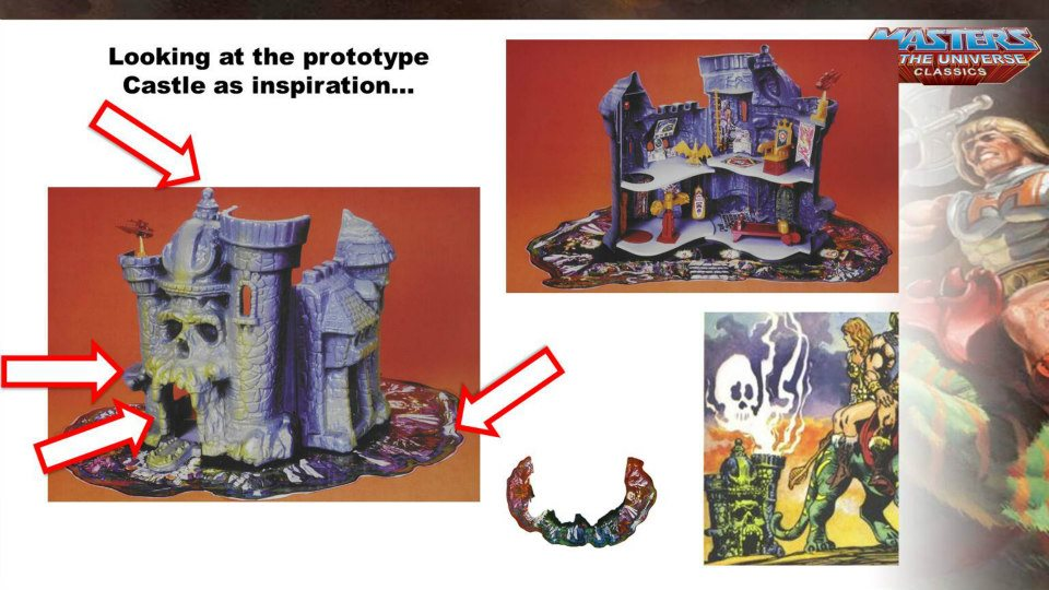 grayskull 2 Toy Talk! MOTUC Castle Grayskull!