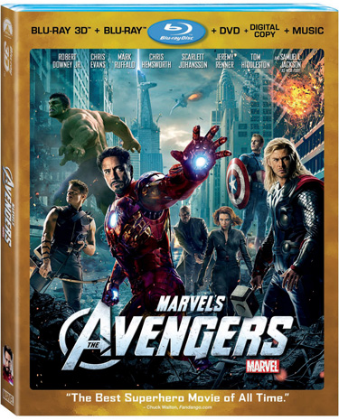 AVENGERS3DComboArt Blu ray Review: Avengers 3D