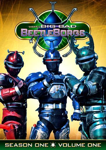 Beetleborgs Big Bad Beetleborgs: DVD Review!