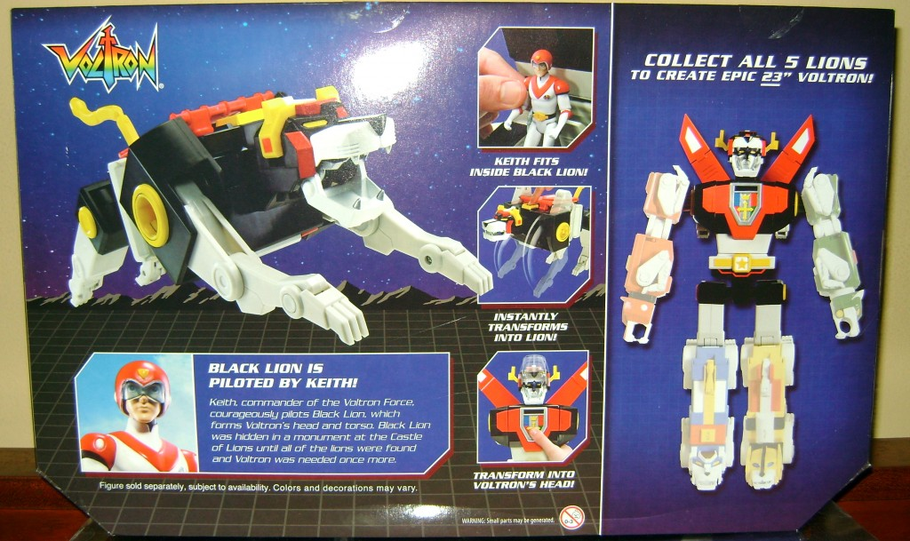 Blk 2 1024x609 Voltron Classics: Black Lion And Voltron!
