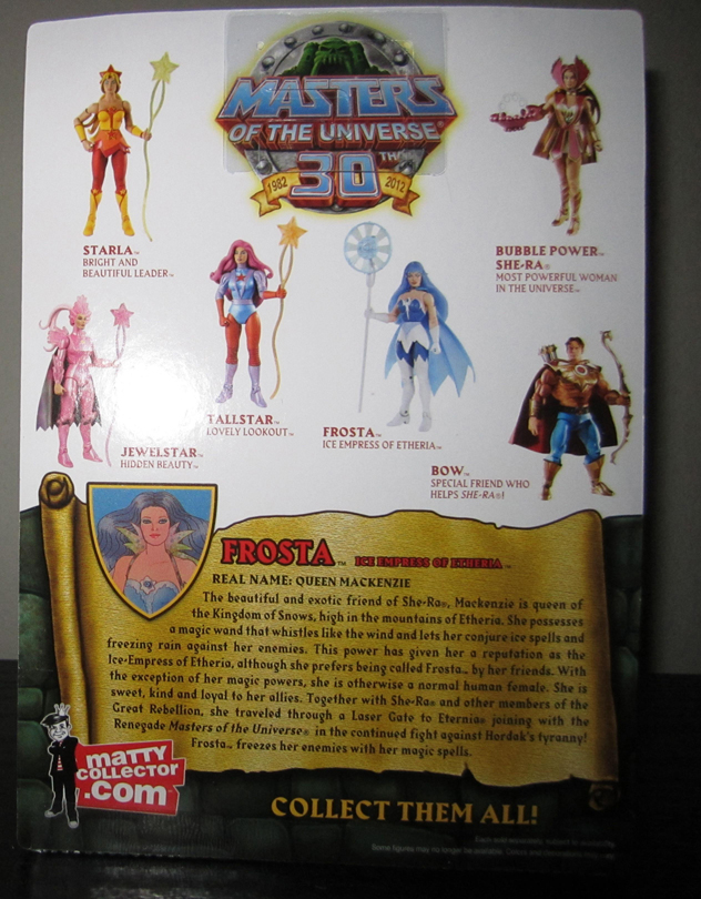 Frst 2 Thirty Years Of MOTU: Oct  Rattlor And Frosta!