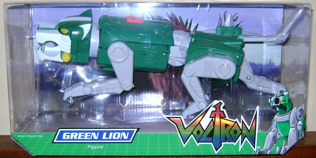 Grn 1 1024x512 Voltron Classics: Green And Yellow Lion!